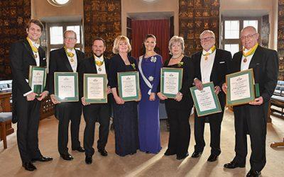 Sju av Sveriges främsta entreprenörer tilldelas Näringslivsmedaljen 2017