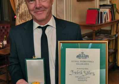 Medalj för betydande gärning december 2016