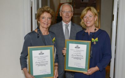 Louise Westerberg och Louise Ankarcrona tilldelas Medalj för Betydande Fostrargärning