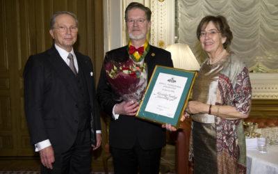 Alexander Husebye får Kulturarvsmedaljen 2018