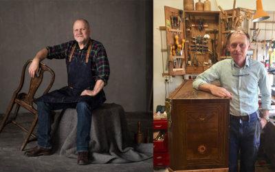 Hantverksmedaljen 2019 – Snickarmästarna Johan Ekström och Jan Rosenlund tilldelas kunglig medalj för utmärkt yrkesskicklighet