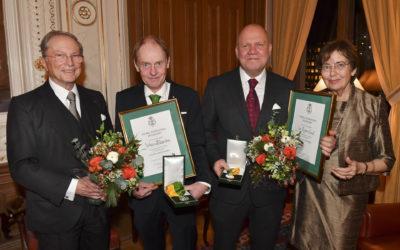 Kunglig medalj för utmärkt yrkesskicklighet till Johan Ekström och Jan Rosenlund