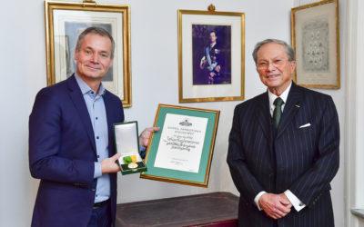 Klimatexperten Johan Kuylenstierna tilldelas Fostrargärningsmedaljen 2020