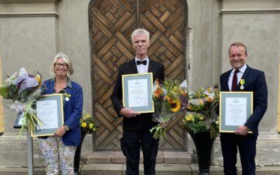 Sällskapets trädgårdsmedaljer har delats ut av Riksförbundet Svensk Trädgård